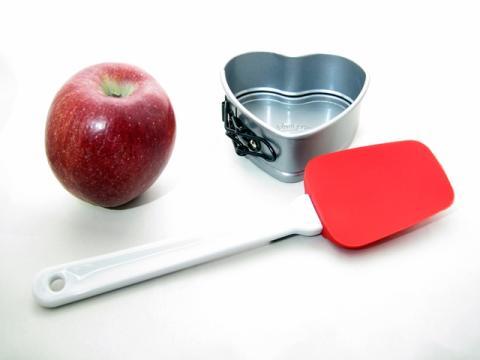Slickepottslev röd äpple