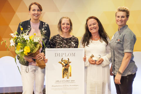 Vinnare Arla Guldko 2018 Bästa Matglädjeförskola Skogsbackens förskola