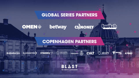 BLAST Pro Series sells out for third year in a row - Major brands come to Copenhagen