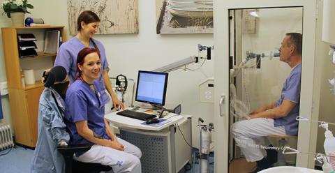 Ny utrustning på Norrtälje sjukhus klarar avancerad lungkontroll