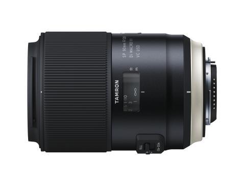 Tamron SP 90mm F/2,8 Makro Di VC USD, ovanifrån