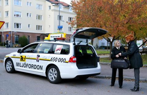 Taxi Göteborg agerar transportservice  för cyklister under Göteborgsgirot