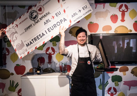 Jimmy Löwenmarks burgare bäst i 2018 års Scandic Burger Challenge