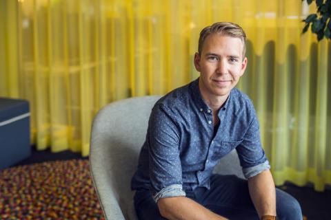 Liggande: Jens Ganslandt