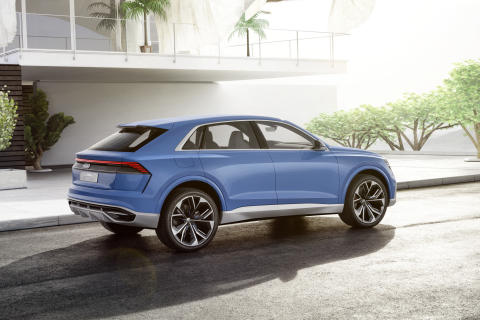 Audi Q8 concept – luksus-SUV i coupédesign