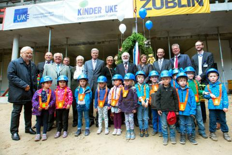 Richtfest für Universitäre Kinderklinik Hamburg-Eppendorf