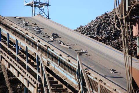 Automatiserad återvinning av metall