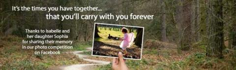 Center Parcs features real family's memories in online ad campaign