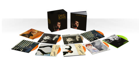 3CD packshot - David Bowie