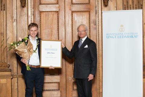 Kompassrosstipendiat 2018: Julius Kramer