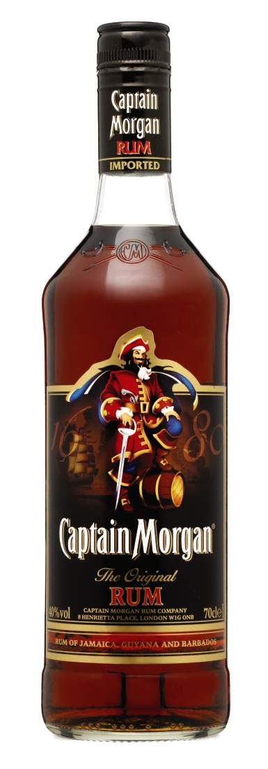 CAPTAIN MORGAN® BLACK LABEL, 70 cl 40,0 Vol %