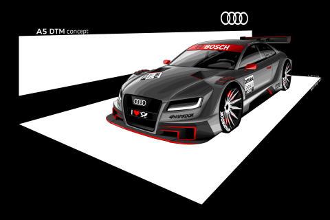Audi A5 Coupé ersätter framgångsrika A4 DTM