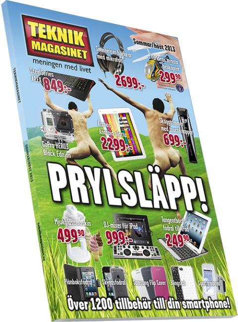 Nya Teknikmagasinet-katalogen utsedd till världens bästa