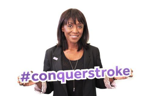 Diane Parish fronts Stroke Association fundraising film
