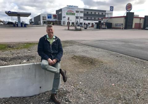 Ny biogastankstation för tung trafik på Trestad Center