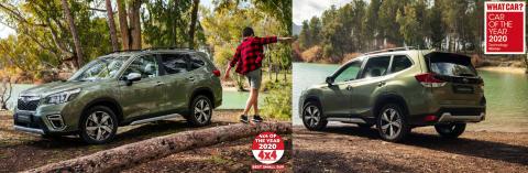 Fina utmärkelser för nya Subaru Forester