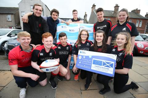 Biggar scores with Digital Scotland Superfast Broadband