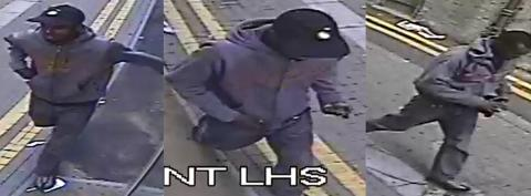 Images of man police wish to trace