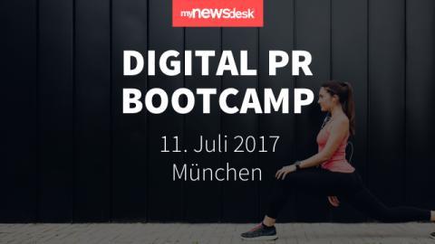 Das Digital PR Bootcamp kommt nach München!