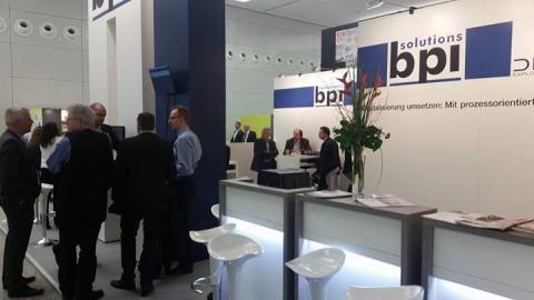 Großer Zuspruch für die Branchenlösungen von bpi solutions auf der imm cologne 2016