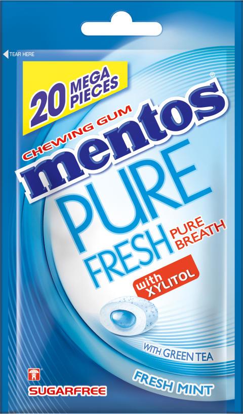 Mentos Gum pure fresh fresh mint