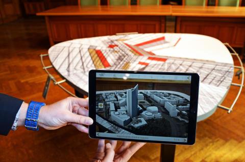 Das neue digitale Stadtmodell von Leipzig