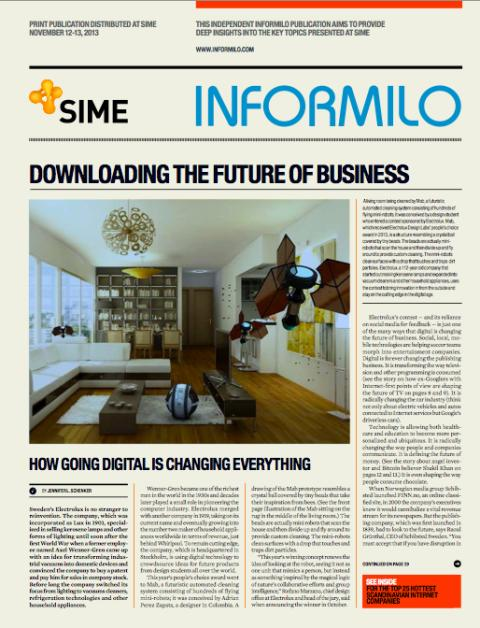 Informilo dissects SIME key topics