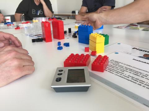 Produktionslyftets Startprogram genomför  Lean-workshop – för de mest optimala flödena.