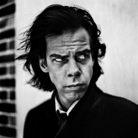 Nick Cave, London 1996. Copyright Anton Corbijn