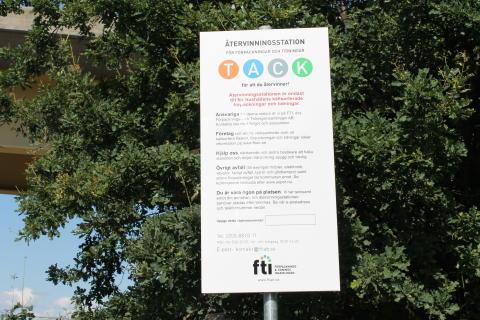 Laholm får ny återvinningsstation
