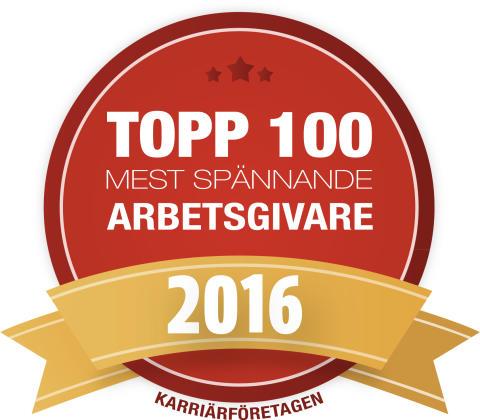 ONE Nordic är ett Karriärföretag 2016