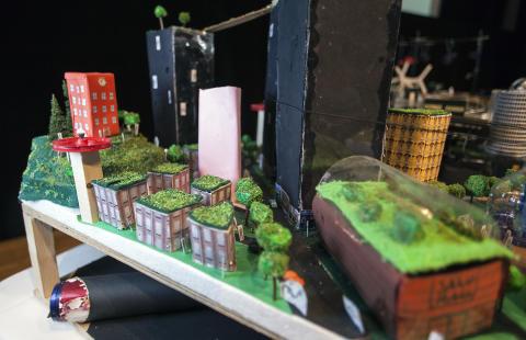 Tre upplandsskolor tävlar i Future City