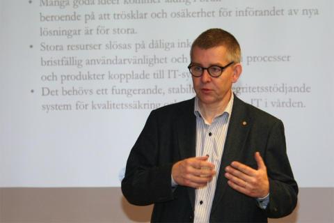 Nordic MedTest presenteras på klusterlunch i Karlstad