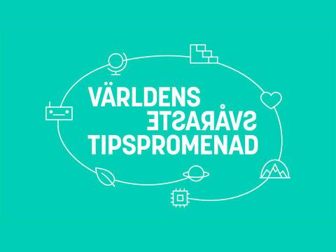 Världens svåraste tipspromenad – nu också i Stockholm