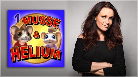 Ljudäventyret Musse & Helium – Ny ljudboksgenre gör succé!
