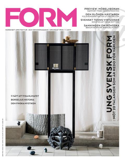 Nya numret av Form: Skandalen i Göteborg, folkhemslegender och designens framtid