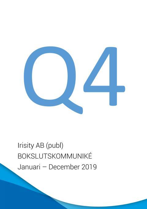Delårsrapport fjärde kvartalet 2019