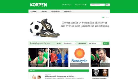 Korpen lanserar ny webbplats - korpen.se