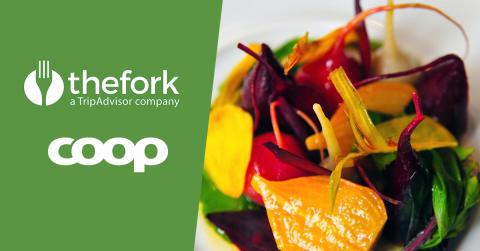 TheFork inleder unikt samarbete som ger Coops medlemmar 50 procents rabatt på 300 restauranger