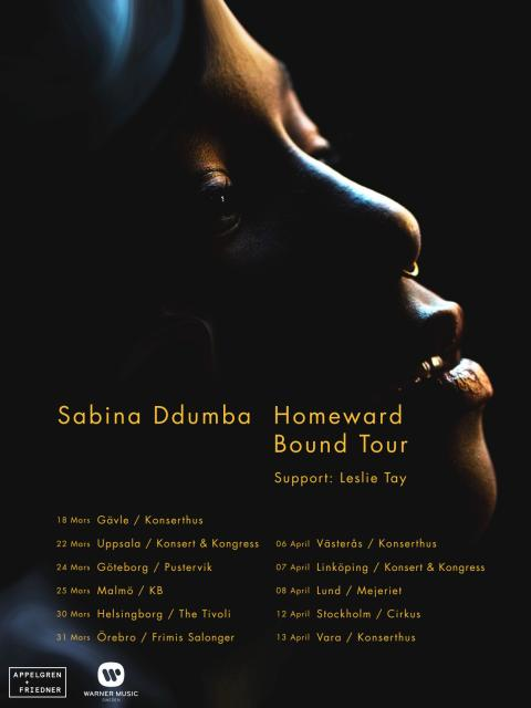 Sabina Ddumba tar sitt kritikerrosade album på vårturné