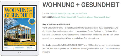 W+G bei Readly