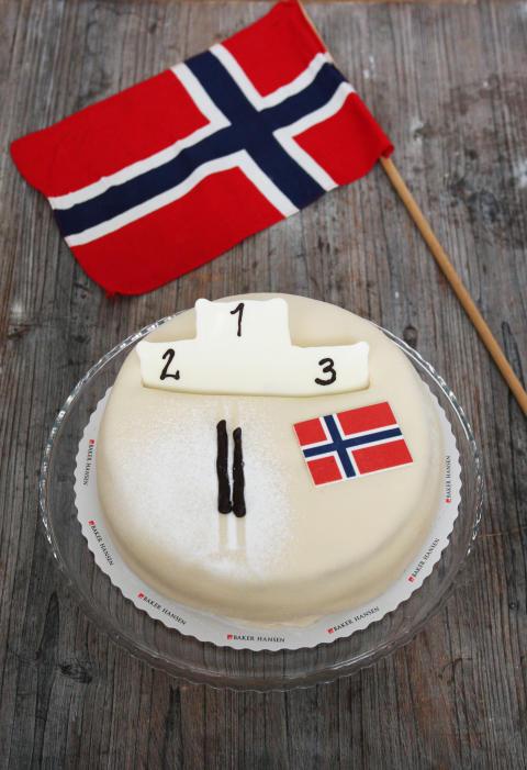 OL kake hos Baker Hansen