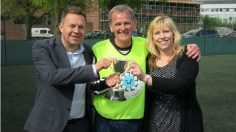 Fred. Olsen Cruise Lines celebrates the winners of the first-ever ​​​'Walking Football Cup' final at 'Wembley'!