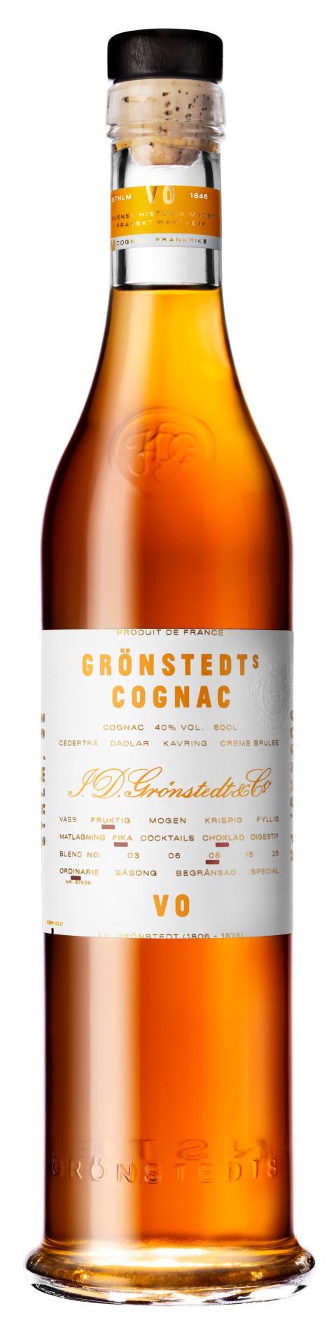 Grönstedts Cognac VO