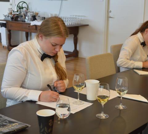 Tina Johansson skriftlig blindprovning