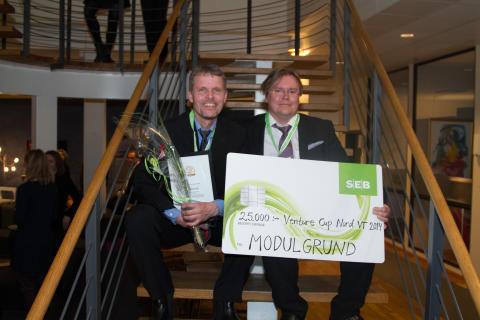 Modulgrund från Piteå en av vinnarna då Venture Cup Nord avgjordes