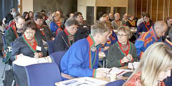 Sametinget håller plenum i Staare/Östersund