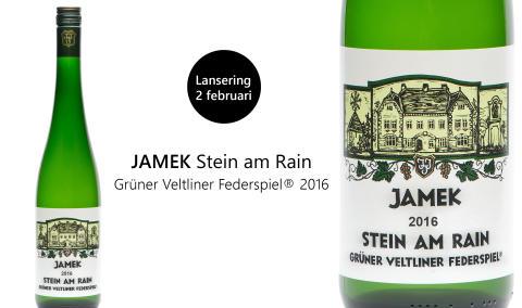 Begränsat parti Grüner Veltliner från Josef Jamek på Systembolaget 2 februari 2018!