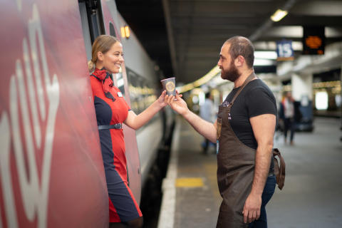 Virgin Trains helps to fight homelessness with 'life changing' coffee from Change Please