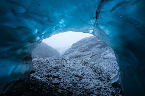 Vatnajökull Glacier caves taken on  A7R II